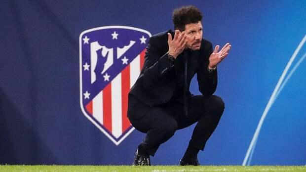 СМИ: Симеоне продлит контракт с «Атлетико» на два года