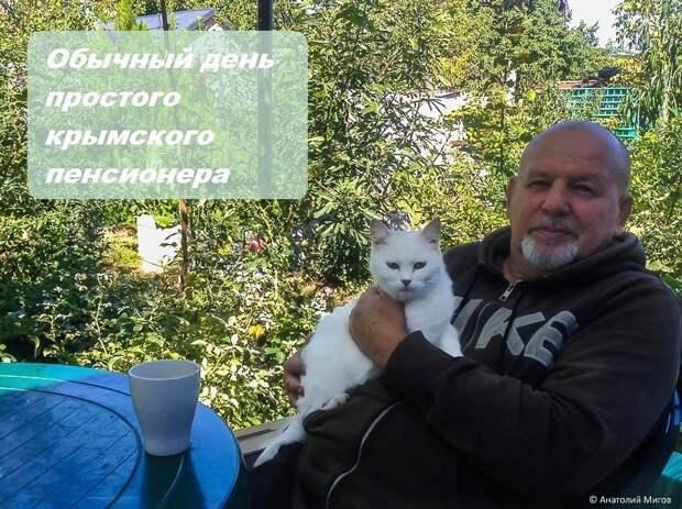 Один октябрьский день простого крымского пенсионера крым, пенсия., россия