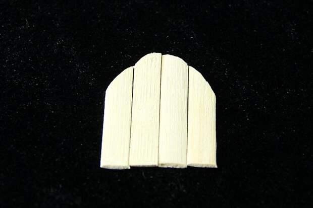 Обрезаем бамбук