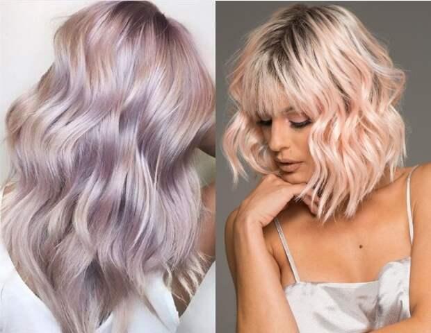 Модные весенние окрашивания волос