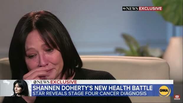 У Шэннон Доэрти диагностировали рак в четвертой стадии