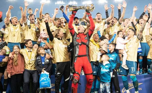 Воспитанник футбольного клуба «Строгино» стал чемпионом Российской Премьер-Лиги