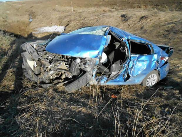 Один человек погиб в ДТП с легковушкой и «КамАЗом»