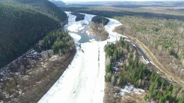 Вскрытие реки Лена начнется с 26 апреля
