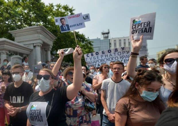 Кремль не планирует разгонять митинги в Хабаровске. Пока