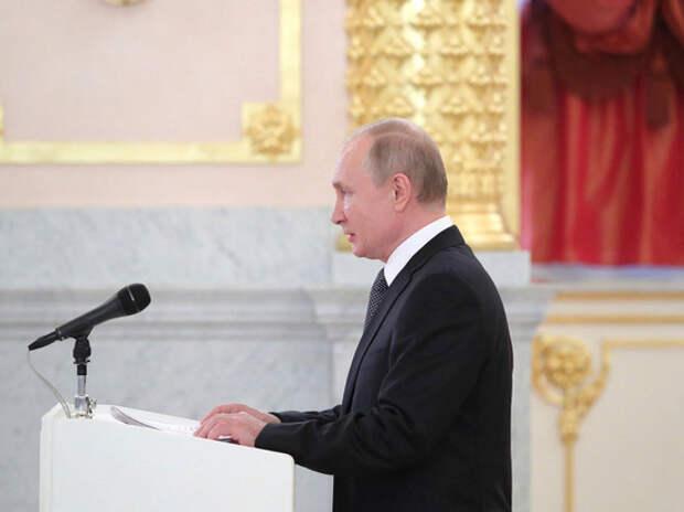 Путин вручил работникам Роспотребнадзора награды за борьбу с коронавирусом