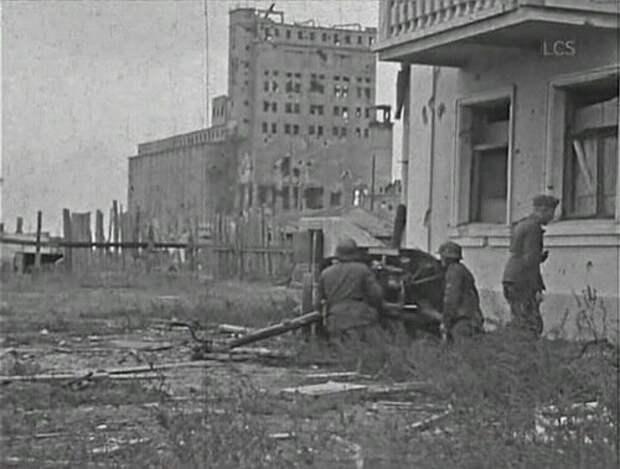 Бои за волгоградский элеватор, 1942 год