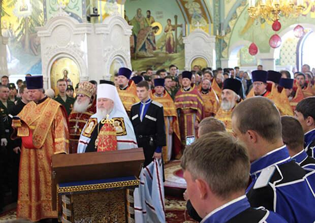 У 49-й общевойсковой армии ЮВО в Ставрополе появился свой войсковой храм