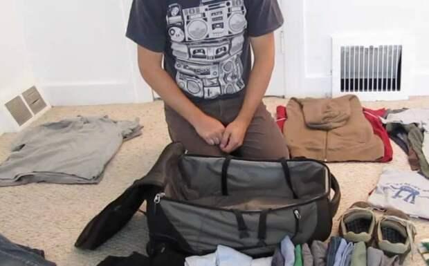Разложите вещи вокруг и собирайте-разбирайте чемодан по несколько раз / Фото: xcom-hobby.ru