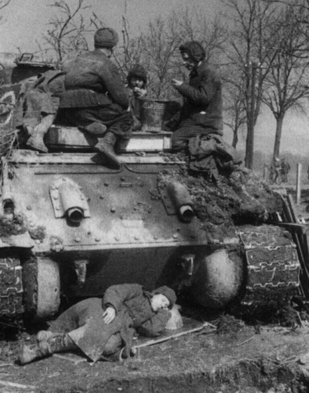 Как бойцы Красной Армии выживали в  -40 °C, ночуя на снегу?