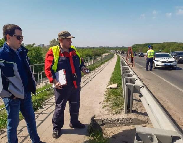 Минтранс предупредил о возможных пробках на мосту через Оку