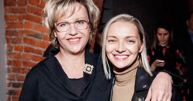 Екатерина Вилкова и Ирина Розанова представили совместный сериал