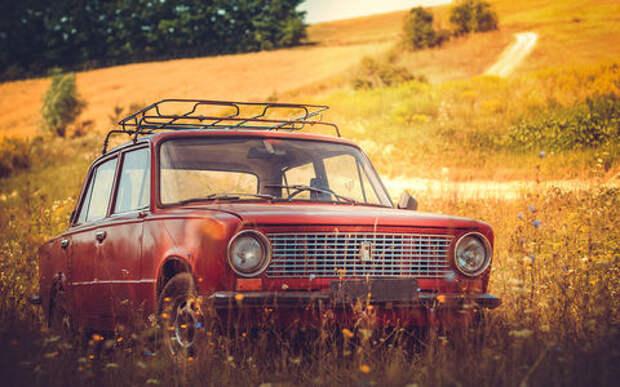 Первые автомобили россиян. Исследование