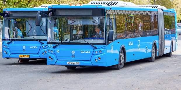 Маршрут автобуса №т43 изменится 4 мая