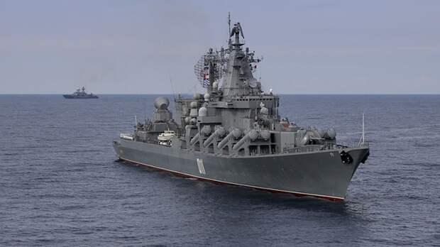 Baijiahao: маневр ВМФ России спас корабли Китая от столкновения с флотом США