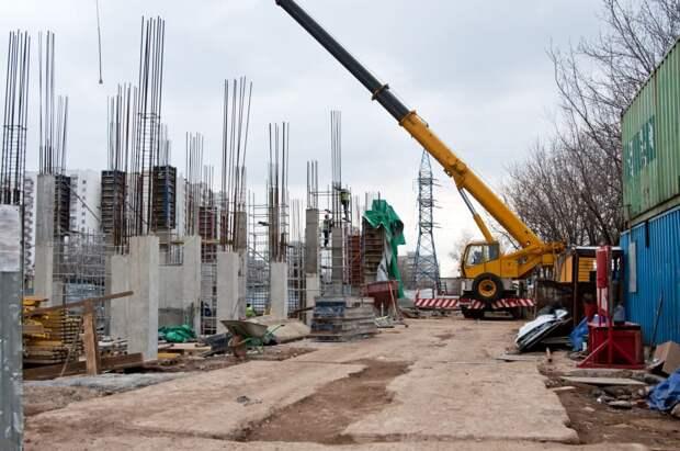 Фото дня: на станции МЦД-2 «Марьина Роща» появились бетонные стены