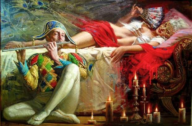 Художник Олег Турчин- империя красоты и оригинальной живописи