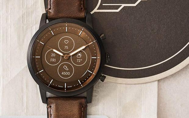 Анонсированы гибридные «умные» часы Fossil Hybrid HR с e-ink дисплеем