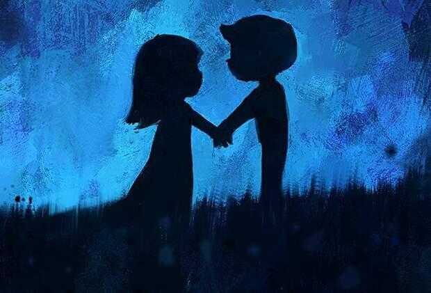 История любви о том как я любила его больше чем себя