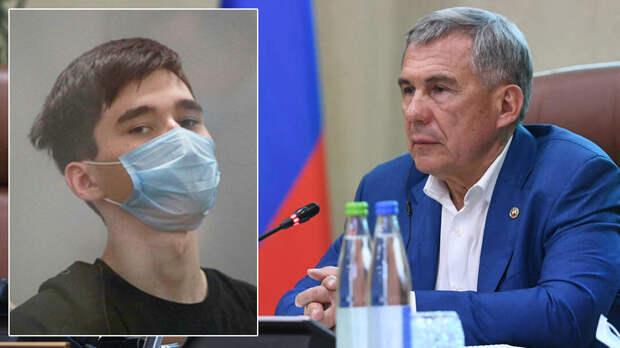 Глава Татарстана поручил пресекать героизацию казанского убийцы в Сети