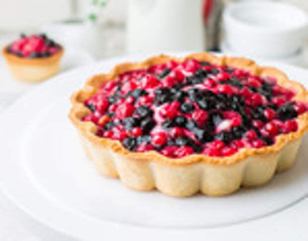 Лето: время ягодных десертов