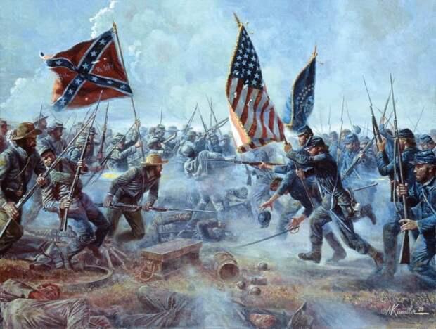 Нынешний тип раскола Америки страхует ее от повторения классической гражданской войны