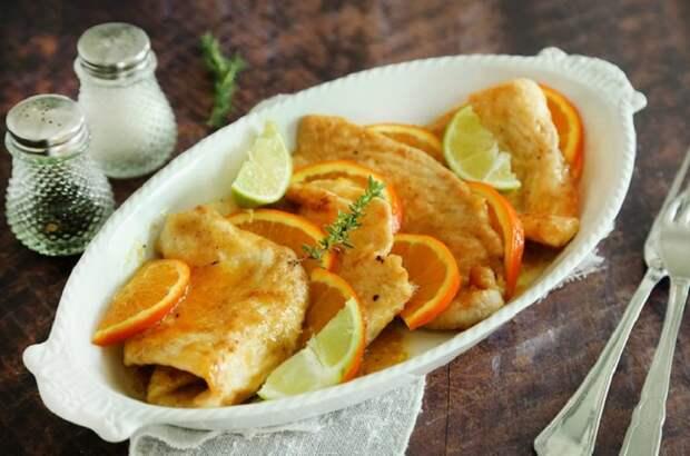 Несладкие блюда из апельсинов: к любому застолью