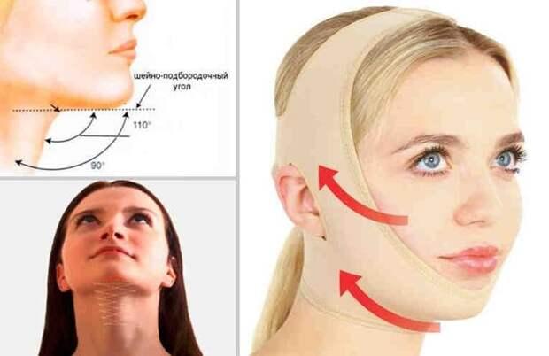 Знаменитая французская повязка красоты подтягивает овал лица без операций!