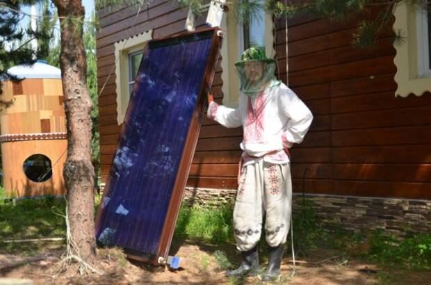 солнечный коллектор Миленки: Экопоселения - аналитика, интервью, практики, видео и фото