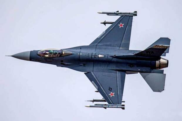EurAsian Times: «Российский» F-16 вызвал ажиотаж в Интернете