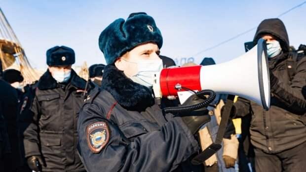 Полиция задержала участника январской акции в Хабаровске