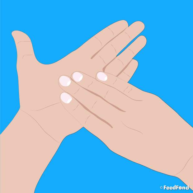 Прижмите безымянный палец на 5 минут... Старинный китайский метод работает!
