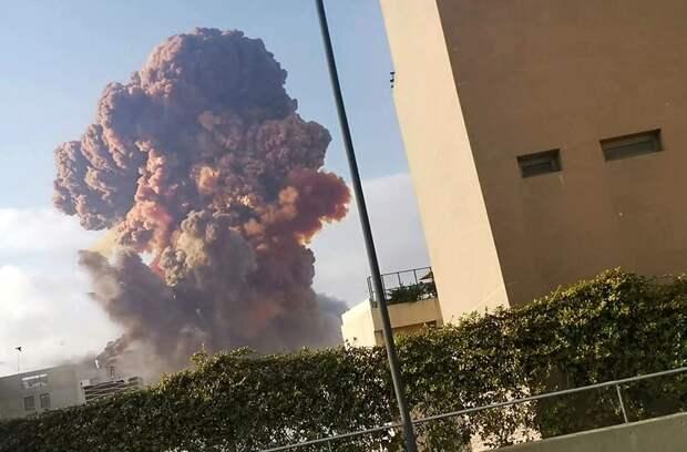 Западные источники сообщили о причастности Израиля к взрыву в порту Бейрута