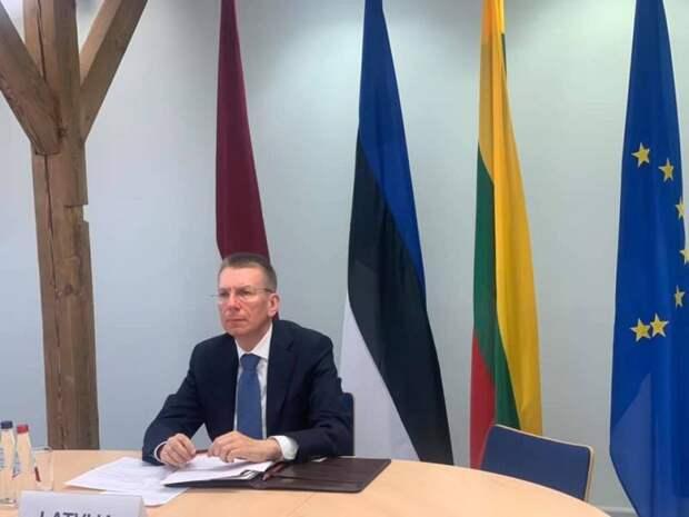 Глава МИД Латвии: Я считаю, что между Россией и Украиной нет территориального спора, Украину можно принимать в НАТО