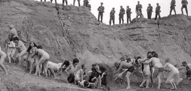 Потомки палачей борются против возведения мемориала в Бабьем Яру