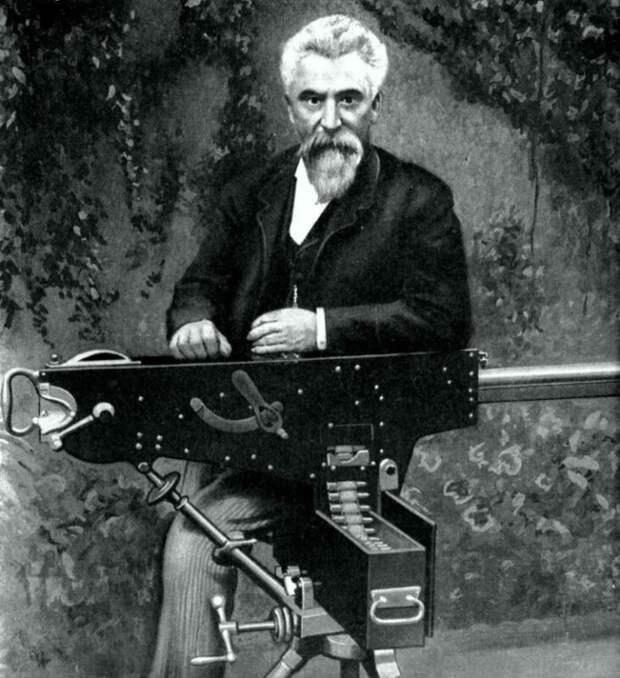 В честь кого назвали культовый пулемёт Максим?