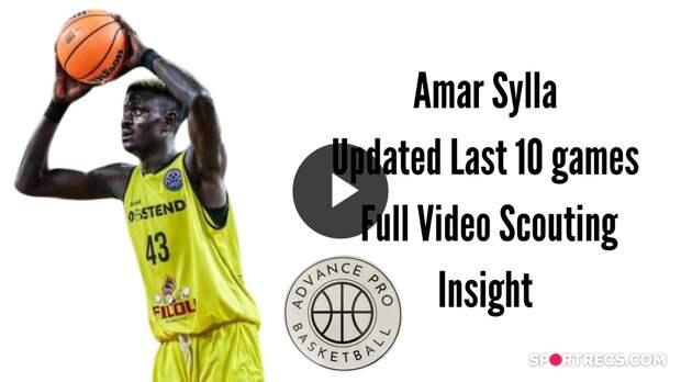 Amar Sylla - Video Scouting Insight
