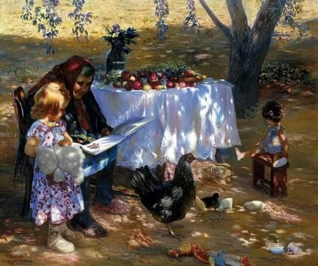 художники Константин Мирошник и Наталья Кургузова-Мирошник картины – 09