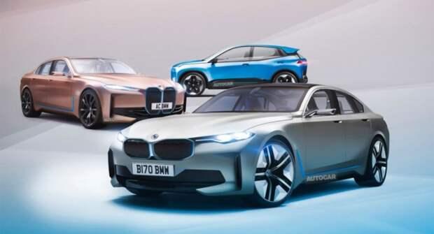 В 2025 году BMW выпустит множество электрокаров, в том числе MINI и Rolls-Royce