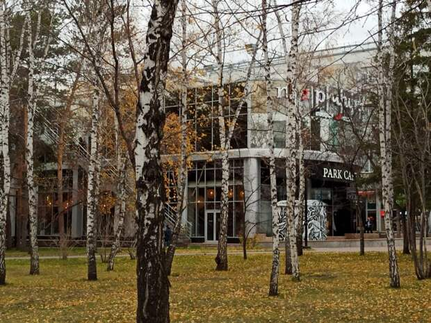 «Парк Кафе» и «Перчини» снесут в течение месяца в Первомайском сквере Новосибирска