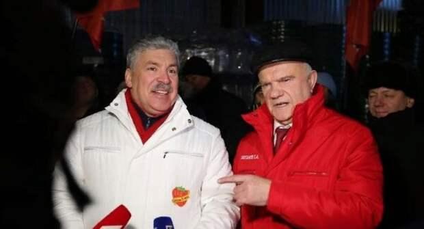 Грудинин и Зюганов организовали отправку гумконвоя на Донбасс