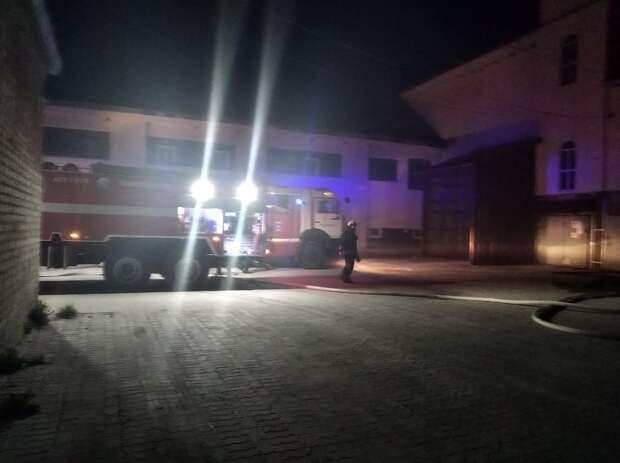 Появились подробности пожара на пластилиновой фабрике в Мурмине