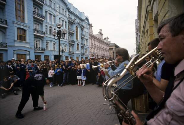 Любительский концерт