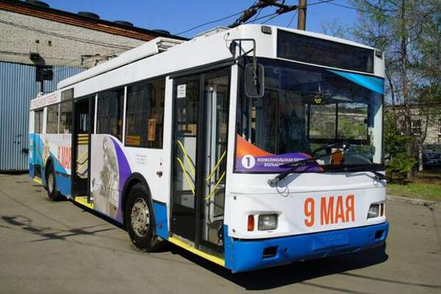 Движение транспорта во время празднования Дня Победы в Хабаровске будет приостановлено