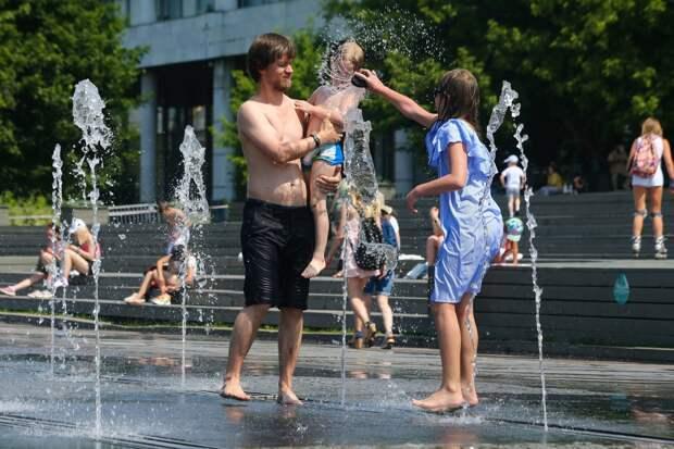 Аномальная жара в Москве завершится ураганом