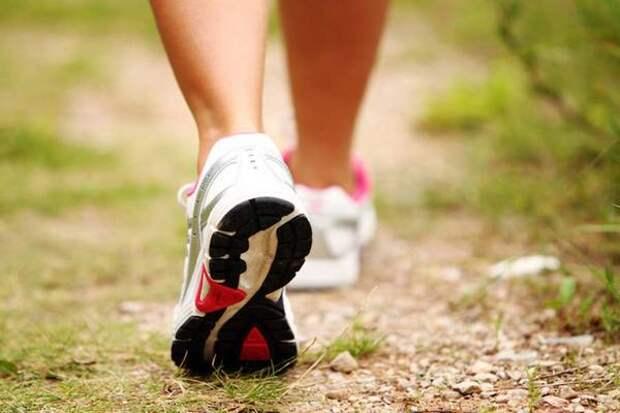 Всего 4400 шагов в день достаточно для укрепления здоровья