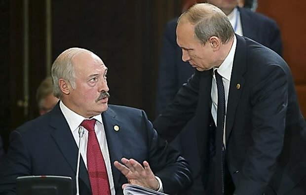 Лукашенко обвиняет в своих проблемах Украину. Путину предлагают обратиться к Белоруссии