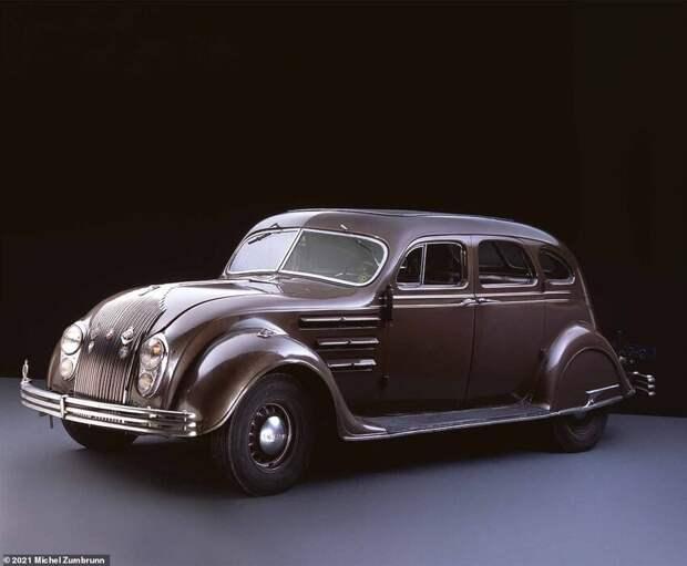 10. Chrysler Airflow 1934 года