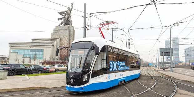 Следующий через Ростокино трамвай №17 назвали самым популярным