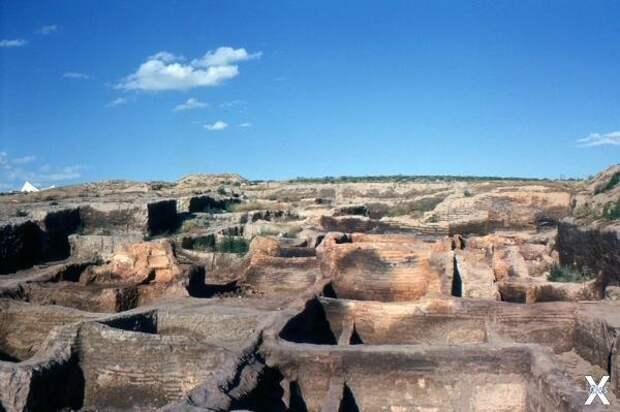 Руины Чатал-Хююка